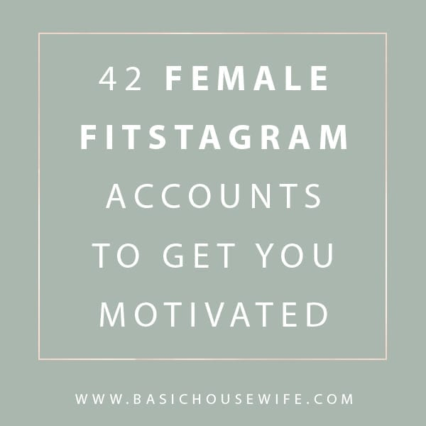 42 Female Fitness Instagram Accounts You NEED To Follow